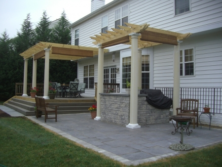 A Great Patio Landscape Design | Rockville, MD