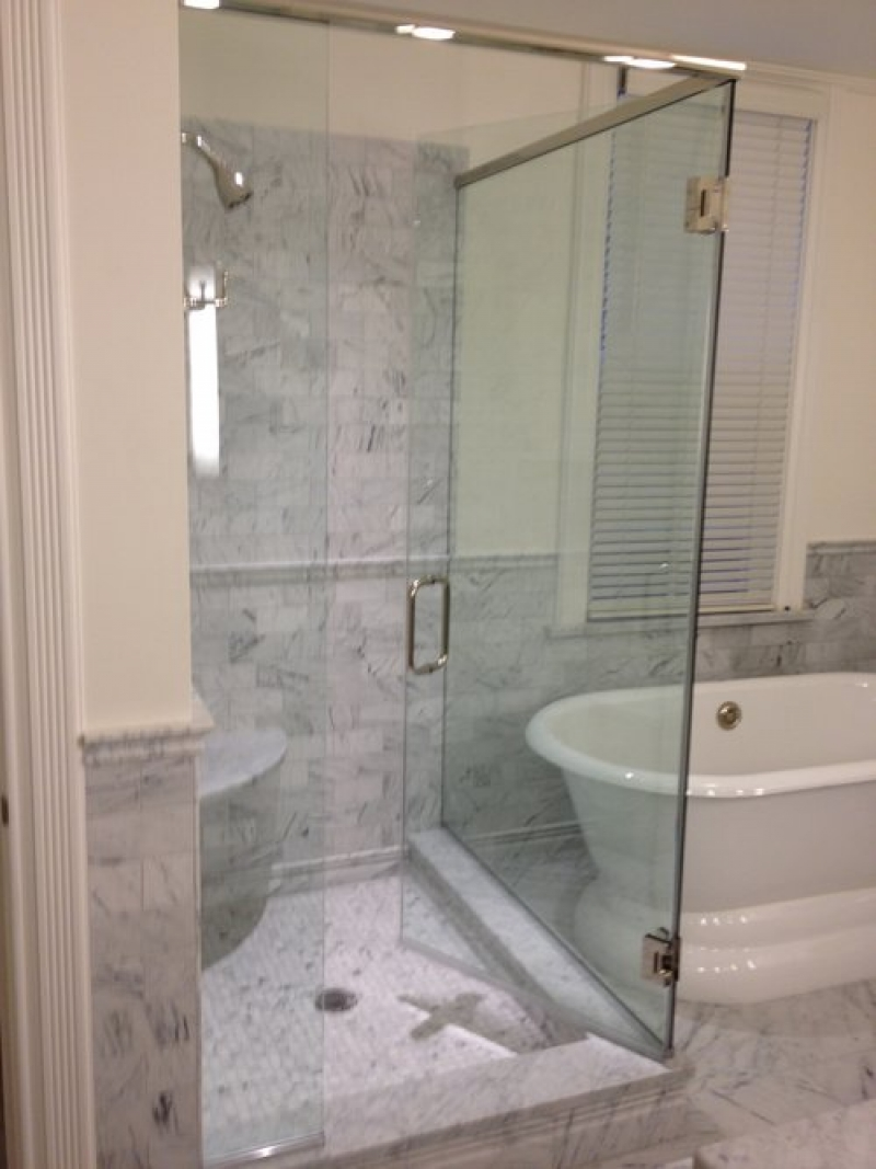 Glass Shower Doors And More Big Bathroom Trends For 2014