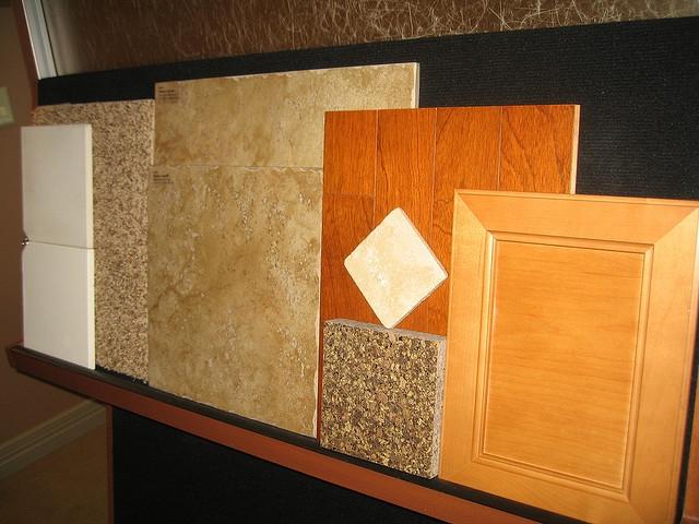 Vinyl Tile Kitchen Backsplash Remodel