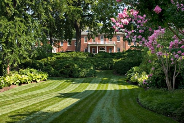 Residential landscaping as Hepburn would like it | Maryland