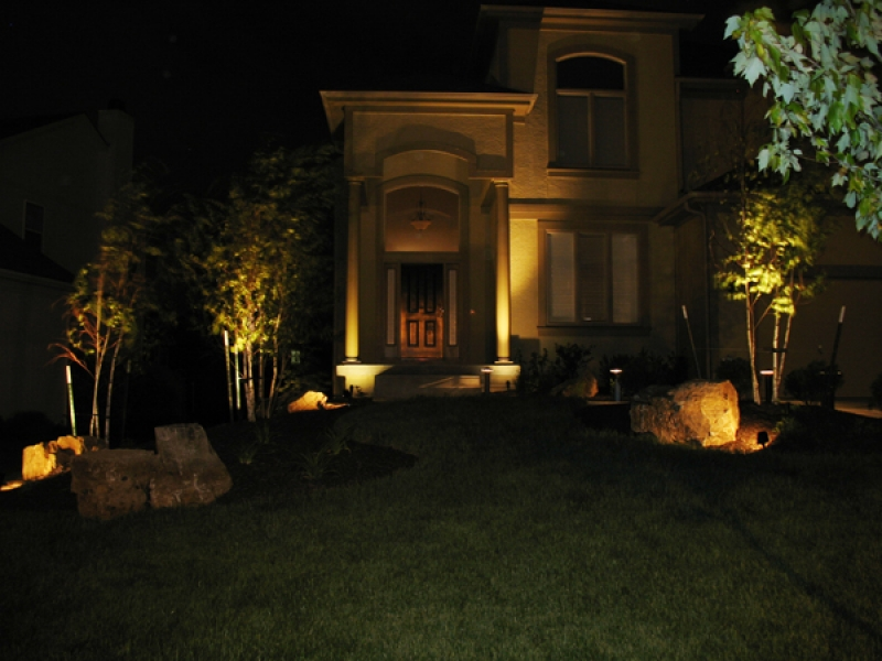 Light up your property with landscape lighting aloadofball Choice Image